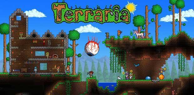 Terraria 1.2.1.1 - Halloween Update [RUS/Multi5] (2013) + Portable