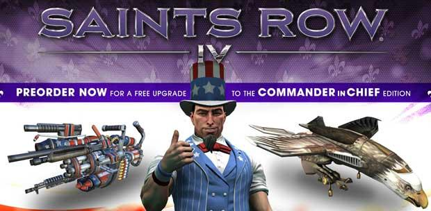 Saints Row IV: Commander In Chief Edition (Deep Silver) [ENG] + Crack Only (RELOADED)