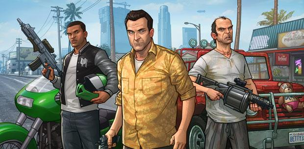 GTA 5 / Grand Theft Auto V [Update 1] (2015) PC | RePack от R.G. Games