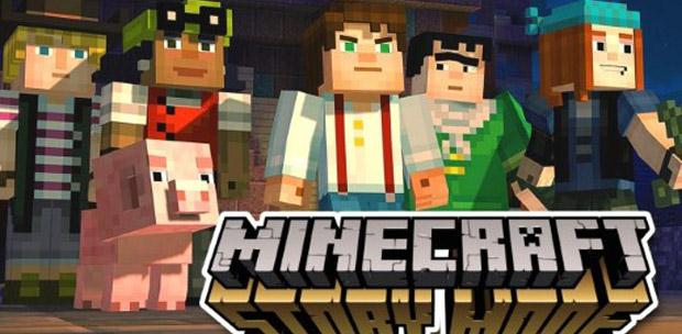 Minecraft: Story Mode - A Telltale Games Series. Episode 1-3 (2015) PC | RePack от R.G. Catalyst