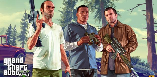 Grand Theft Auto 5 (Rockstar Games) [RUS / ENG/ MULTi9] [RETAIL] + Update (v1.0.350.1) (RELOADED)