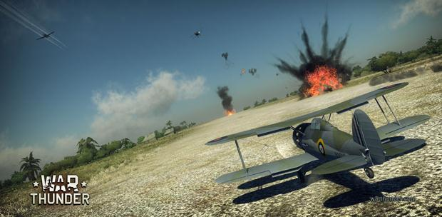 War Thunder [1.55.2.41] (2012) PC | Online-only