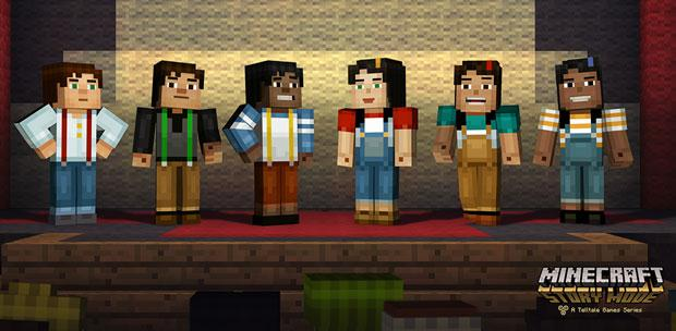 Minecraft: Story Mode - A Telltale Games Series. Episode 1-2 (2015) PC | RePack от R.G. Catalyst