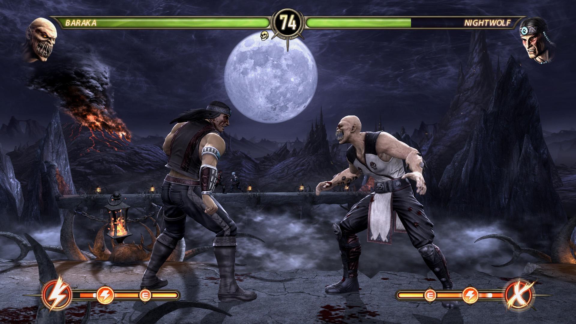 Новый мод позволяет играть за боссов — mortal kombat — игры.