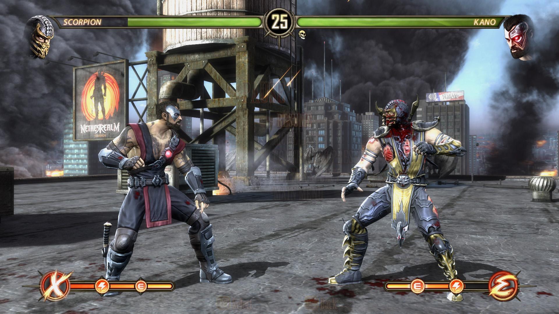 Mortal kombat 9 на pc скачать торрент механики.