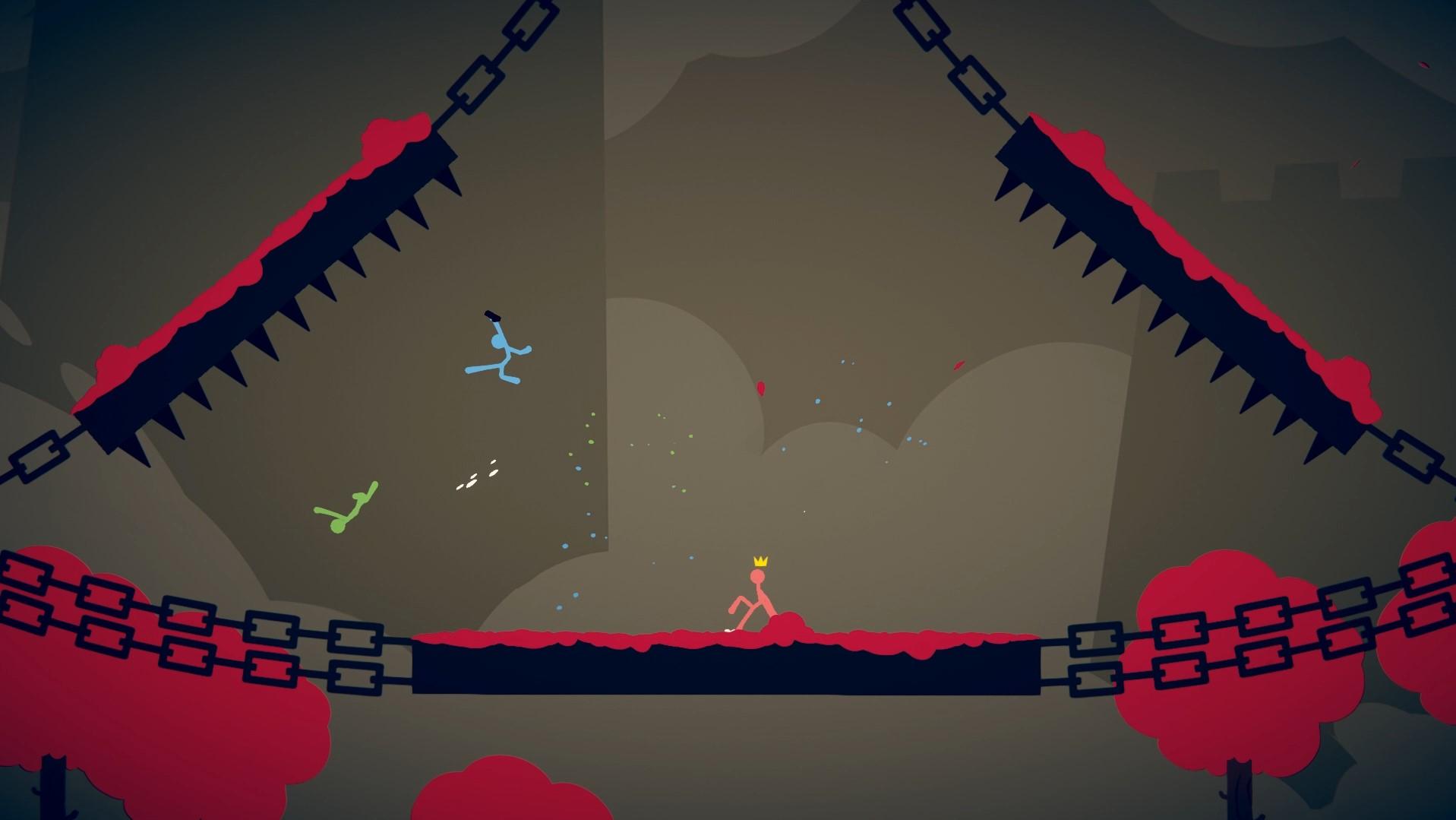 Скриншоты к Stick Fight: The Game (1.2.01) полная версия
