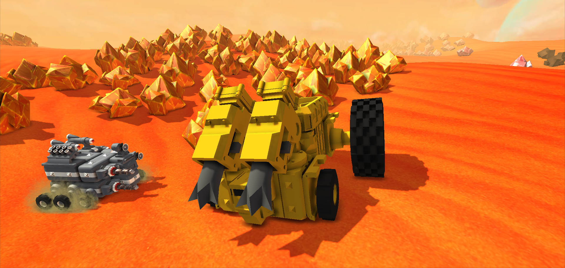 Скриншоты к TerraTech v0.7.8.3 (32/64 bit) - песочница-конструктор
