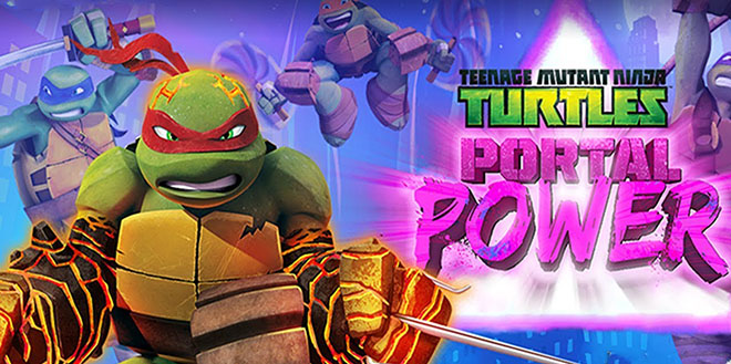 Teenage Mutant Ninja Turtles: Portal Power v1.0 на русском