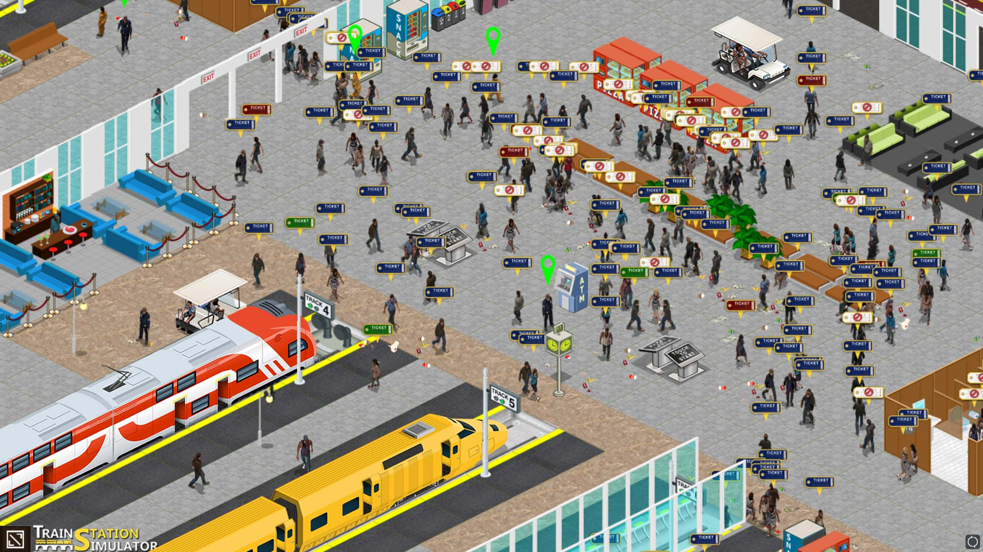Скриншоты к Train Station Simulator v0.7.2.1