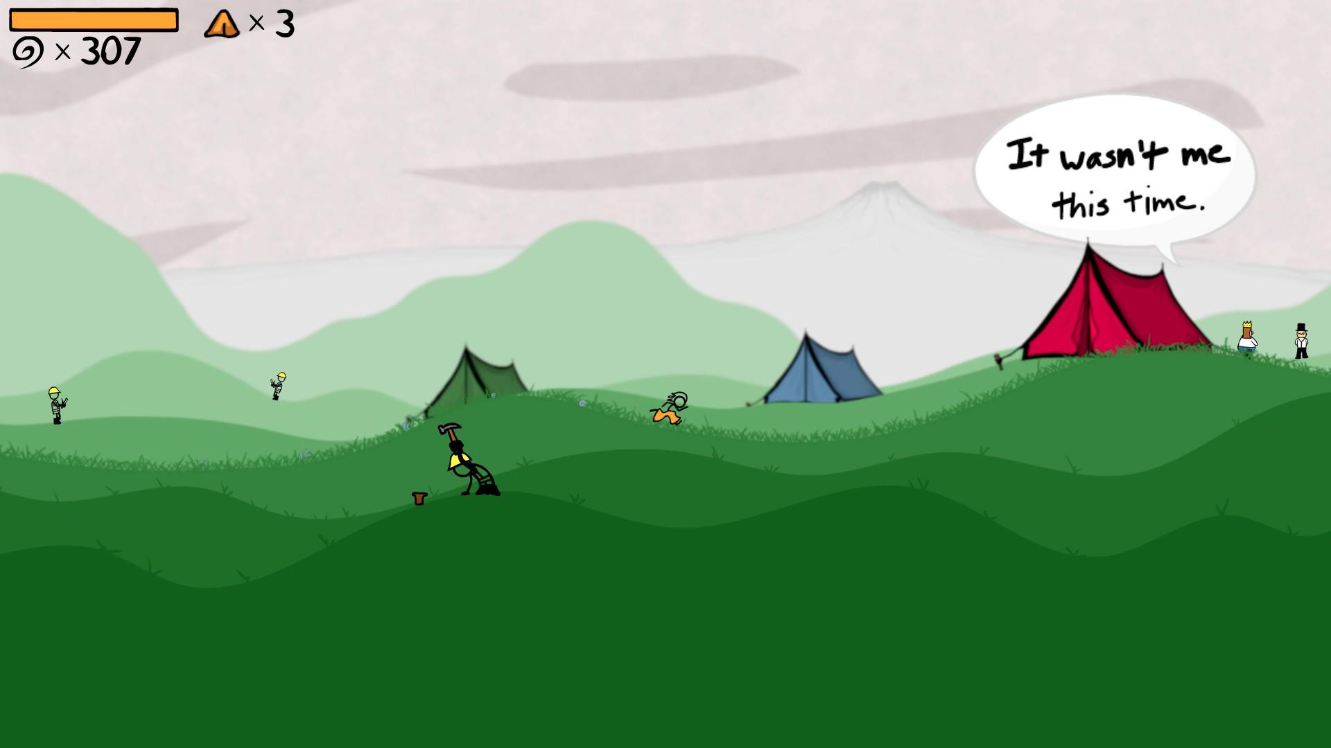 Скриншоты к Super Fancy Pants Adventure – полная версия на русском