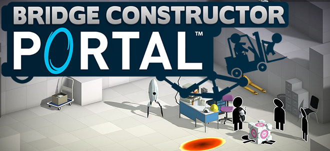 Bridge Constructor Portal v1.2 – полная версия на русском