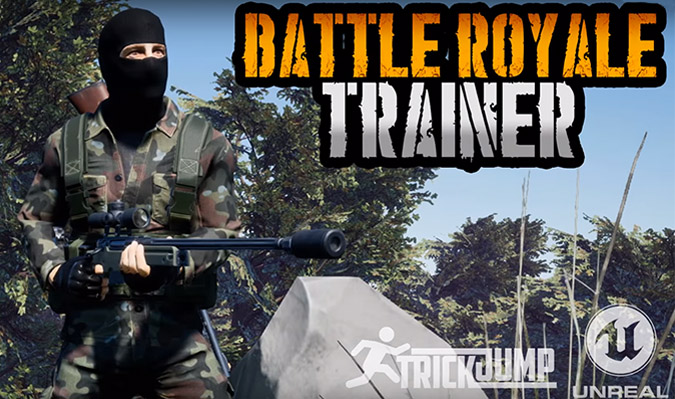 Battle Royale Trainer v1.0.0.1 – PUBG simulator