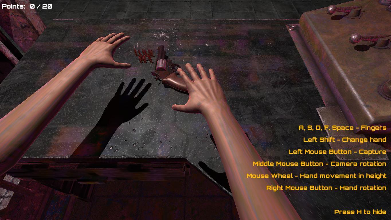 Скриншоты к Hand Simulator v2.5 - полная версия