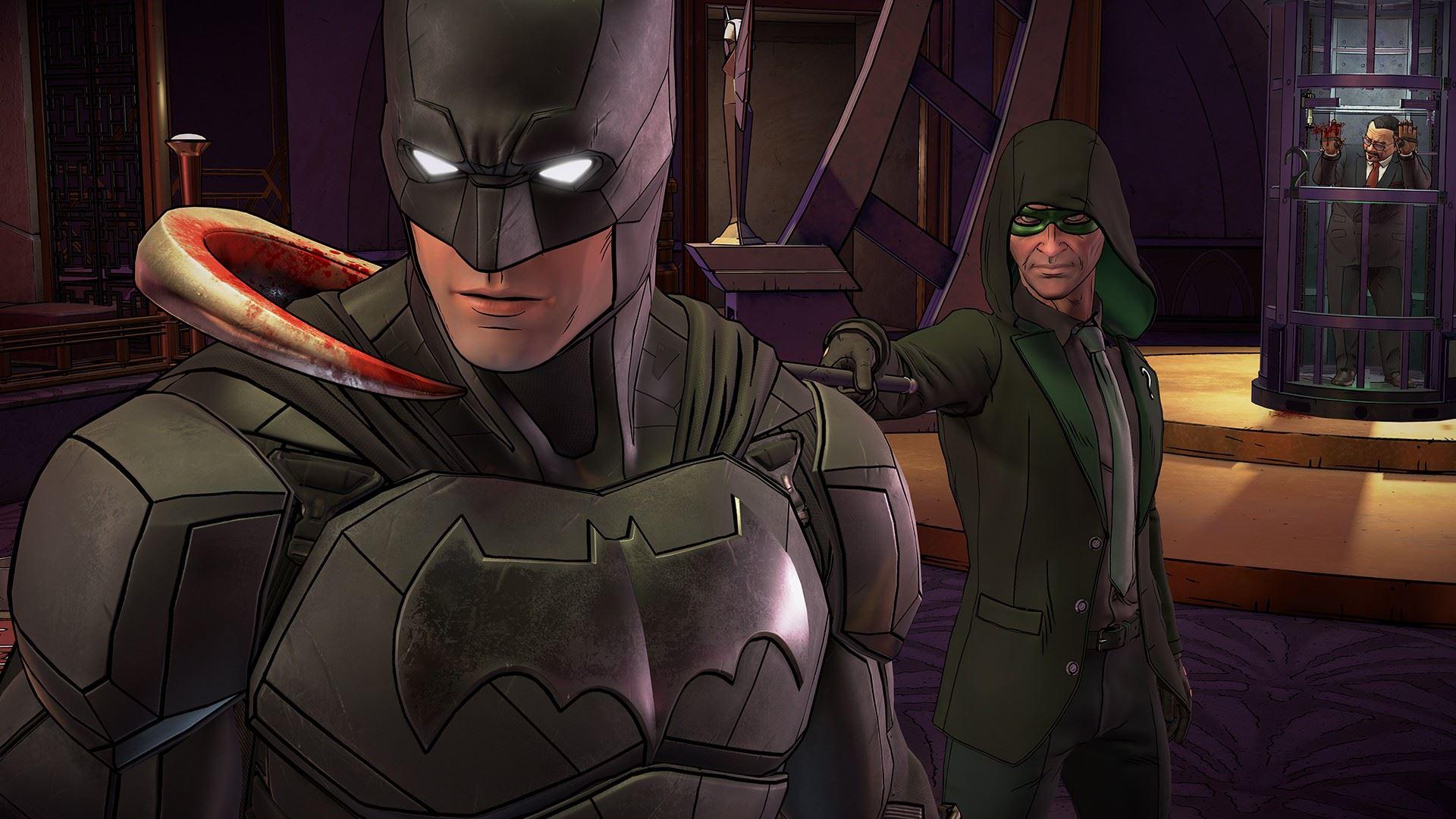 Скриншоты к Batman: The Enemy Within - Episode 1-4 – на русском | Repack от xatab