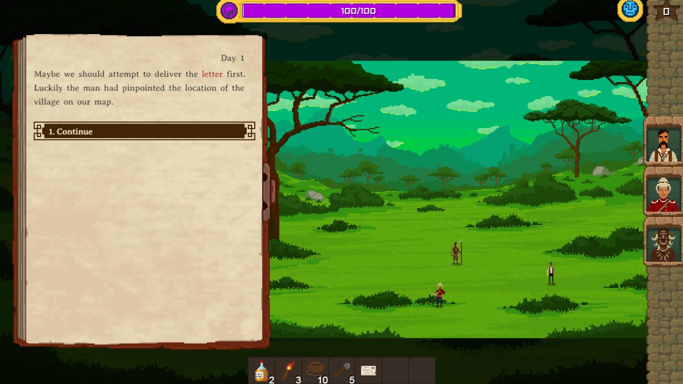 Скриншоты к The Curious Expedition v1.3.2.5 - полная версия на русском языке