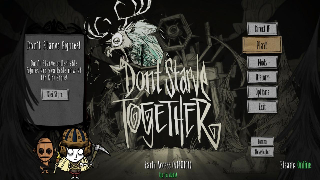 Скриншоты к Don't Starve Together v249566 на русском языке