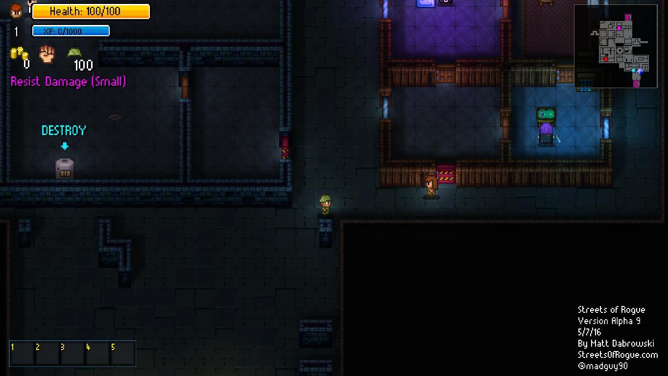 Скриншоты к Streets of Rogue [Alpha 43d] на русском языке