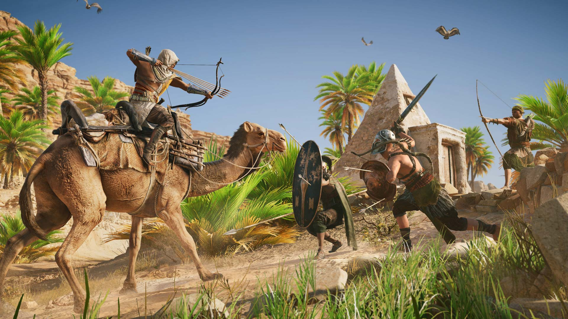 Скриншоты к Assassin's Creed: Origins v1.2.1 + DLC | RePack от xatab на русском языке