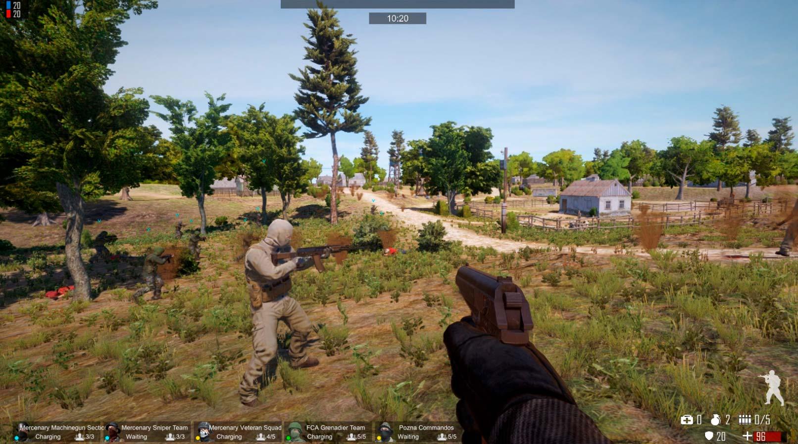 Скриншоты к Freeman: Guerrilla Warfare v0.193 – полная версия