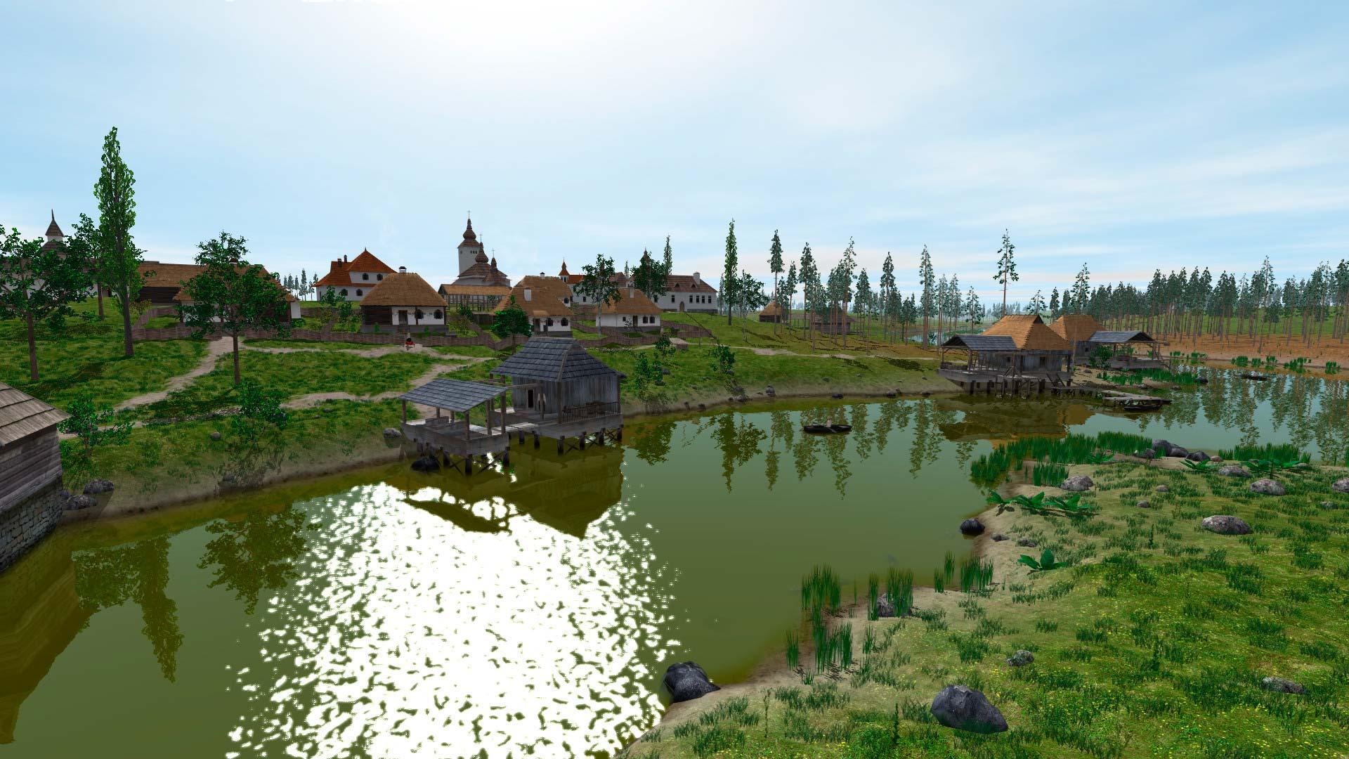 Скриншоты к Ostriv Alpha v1.5 - полная версия