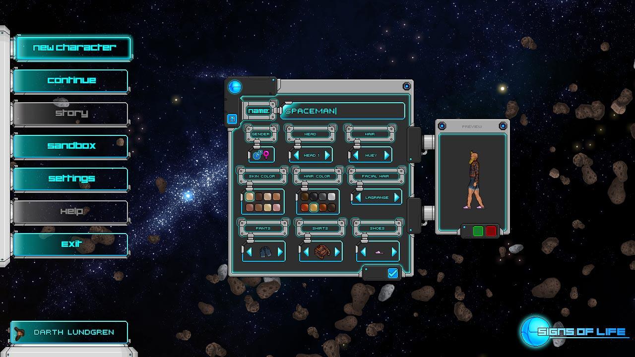 Скриншоты к Signs of Life v0.11.1 полная версия