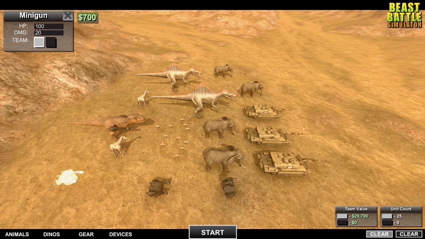 Скриншоты к Beast Battle Simulator [Build 23.02.2018] полная версия