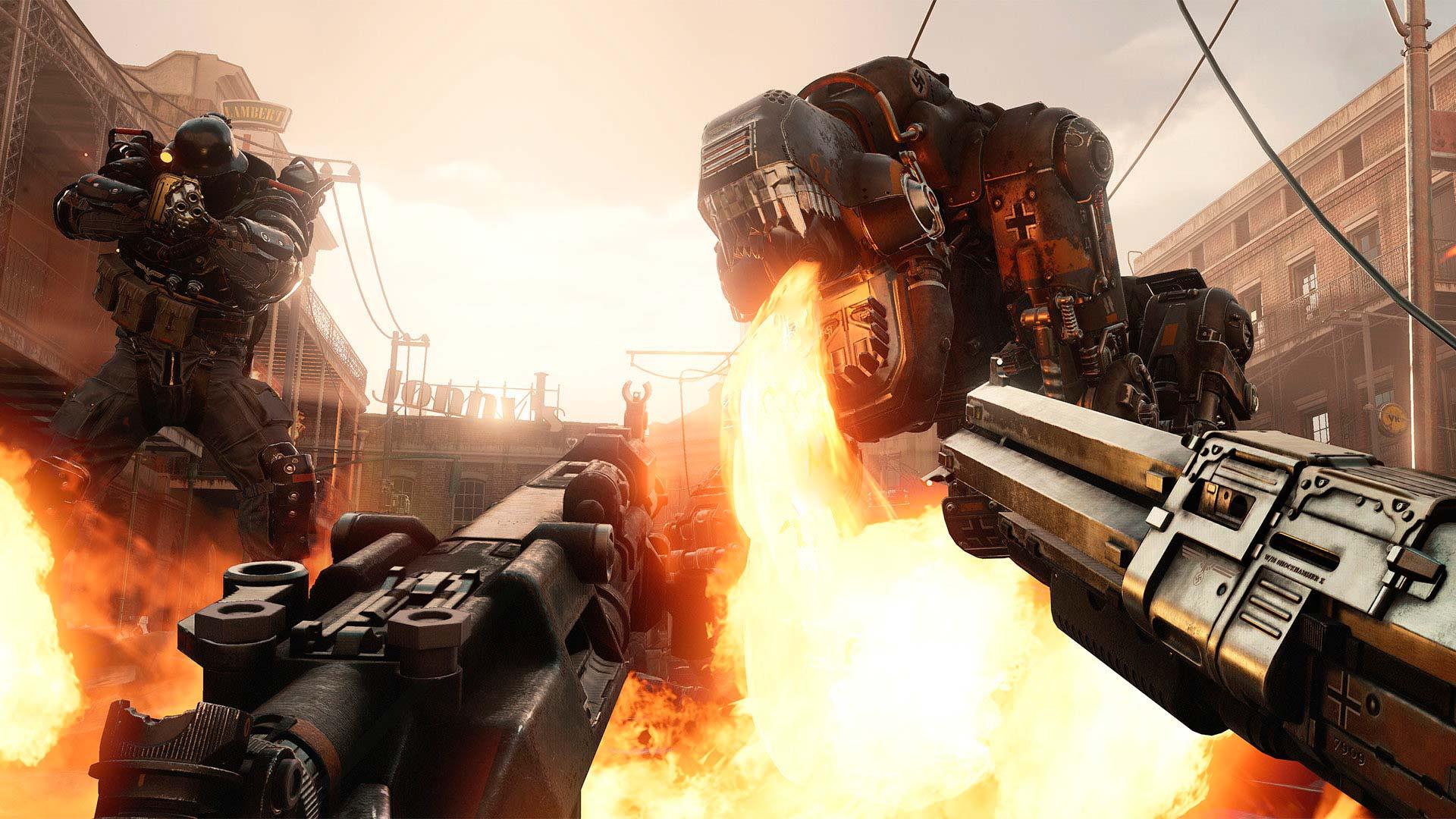 Скриншоты к Wolfenstein 2: The New Colossus [v Update 6] + DLC на русском | Репак от xatab