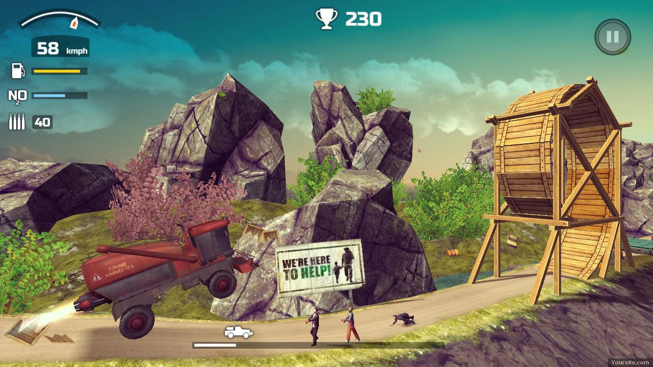 Скриншоты к Zombie Derby 2 v1.1 на компьютер | Repack от Other