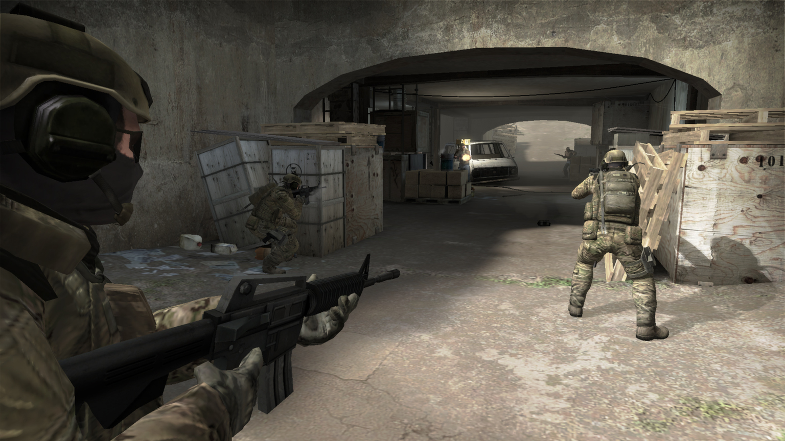 Скриншоты к Counter-Strike Global Offensive 1.1 [MAC OS X]