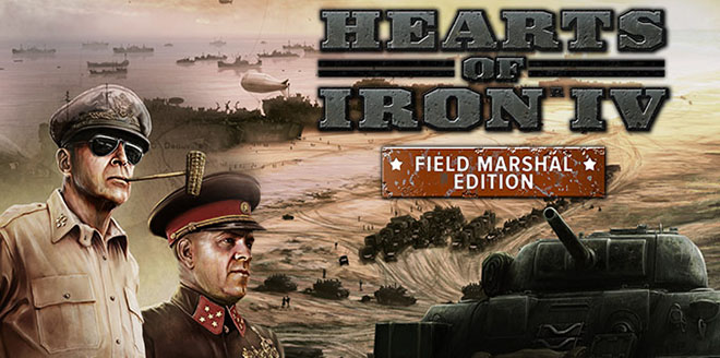 Hearts of Iron 4: Field Marshal Edition v1.5.2 + Waking the Tiger DLC на русском Repack