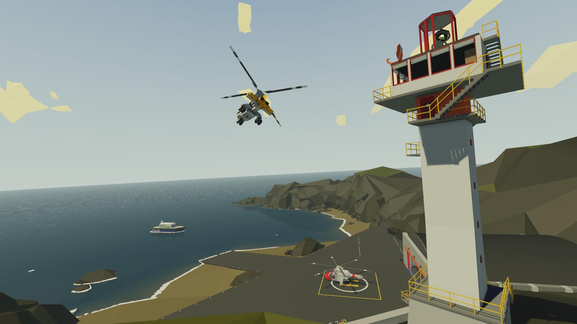 Скриншоты к Stormworks: Build and Rescue v0.1.6 полная версия