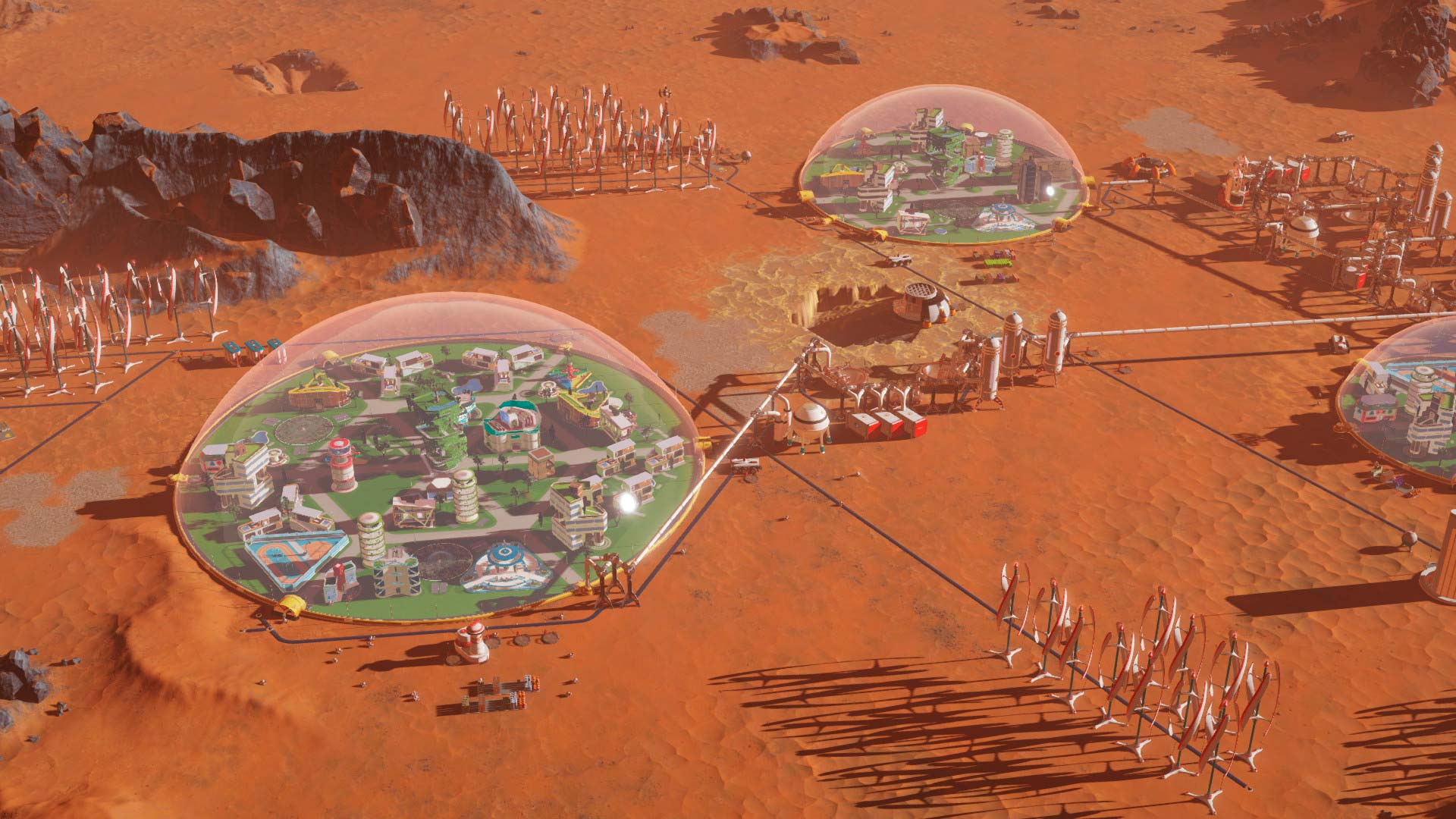 Скриншоты к Surviving Mars: Digital Deluxe Edition [1.0 + 1 DLC] (2018) PC | RePack от xatab на русском