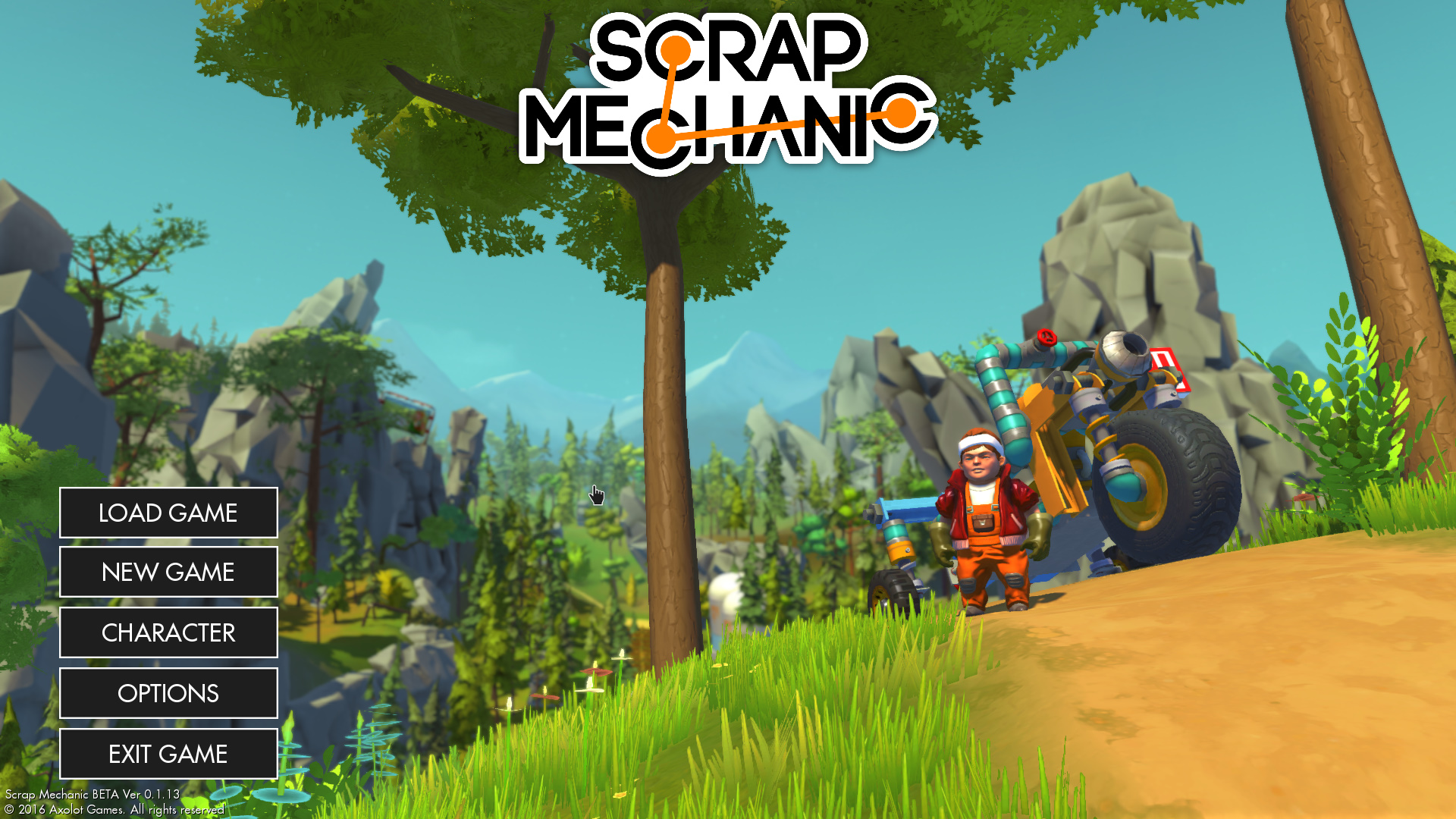 Скриншоты к Scrap Mechanic v0.2.14 полная версия на русском языке