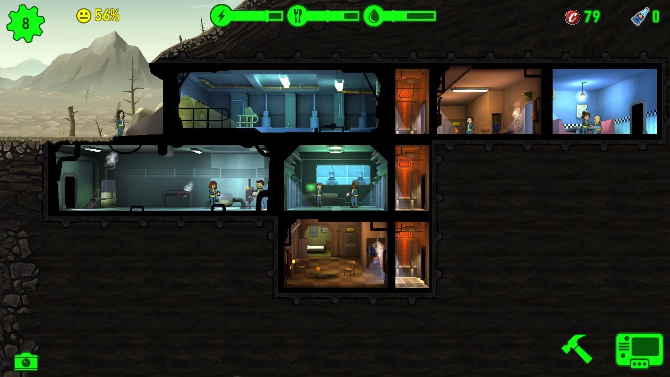 Скриншоты к Fallout Shelter v1.13.8 на ПК полная русская версия Repack