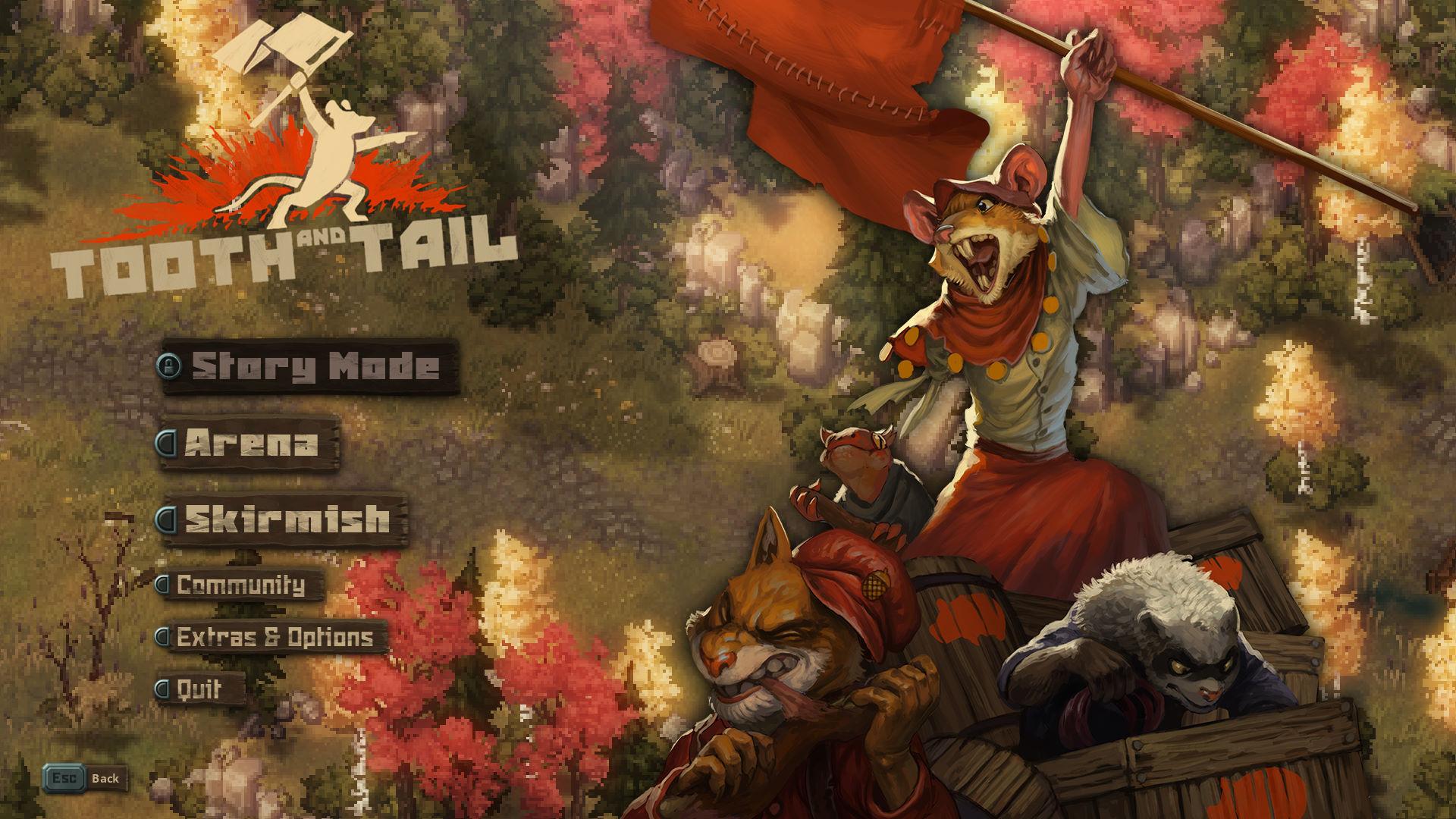 Скриншоты к Tooth and Tail v1.1.4.1 новая версия