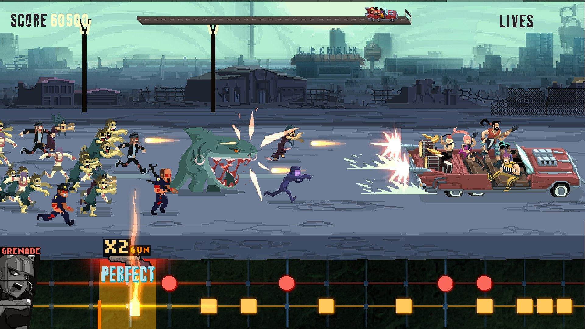 Скриншоты к Double Kick Heroes v0.022.6687 полная версия на русском