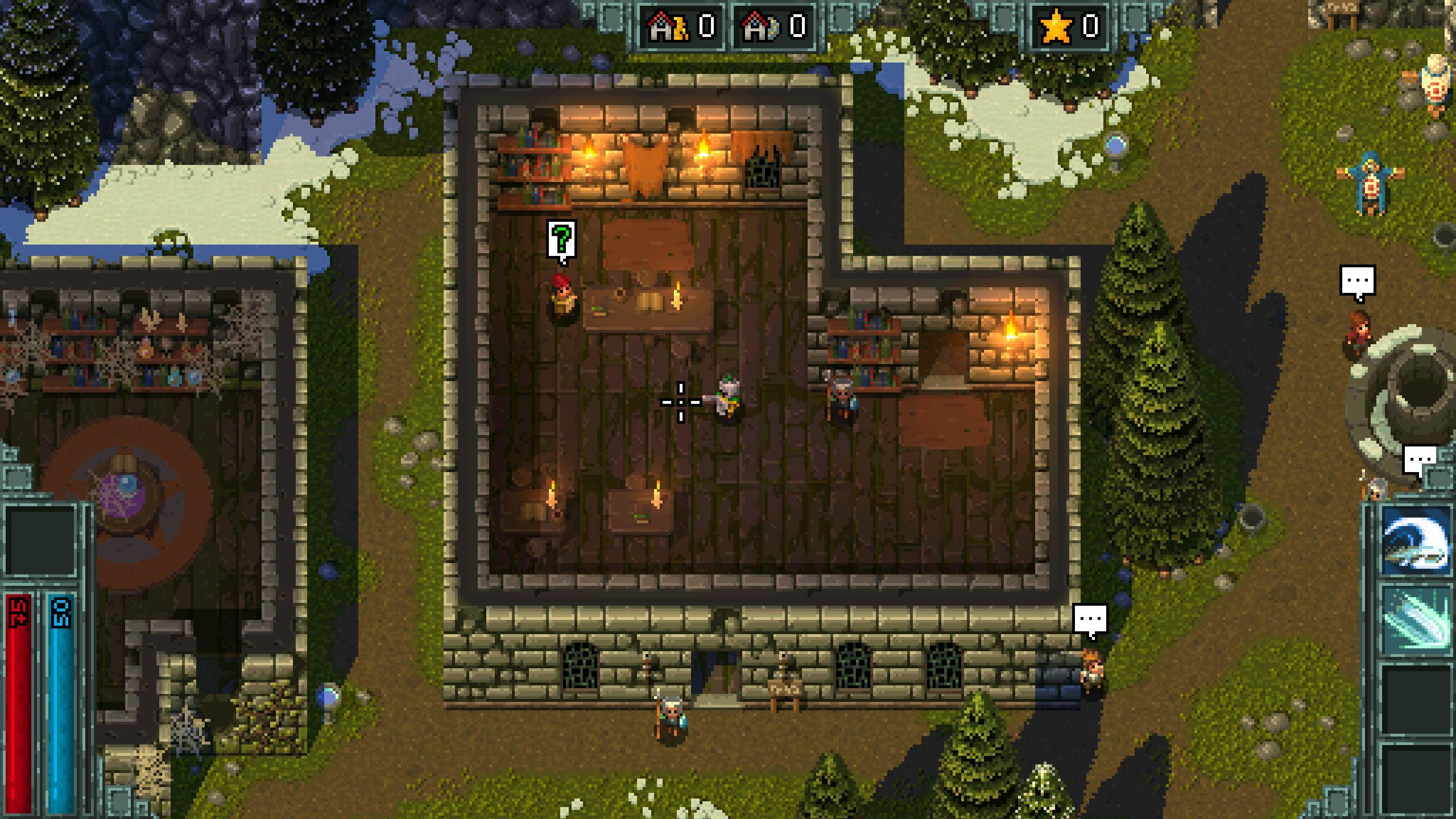 Скриншоты к Heroes of Hammerwatch v76 – полная версия игры