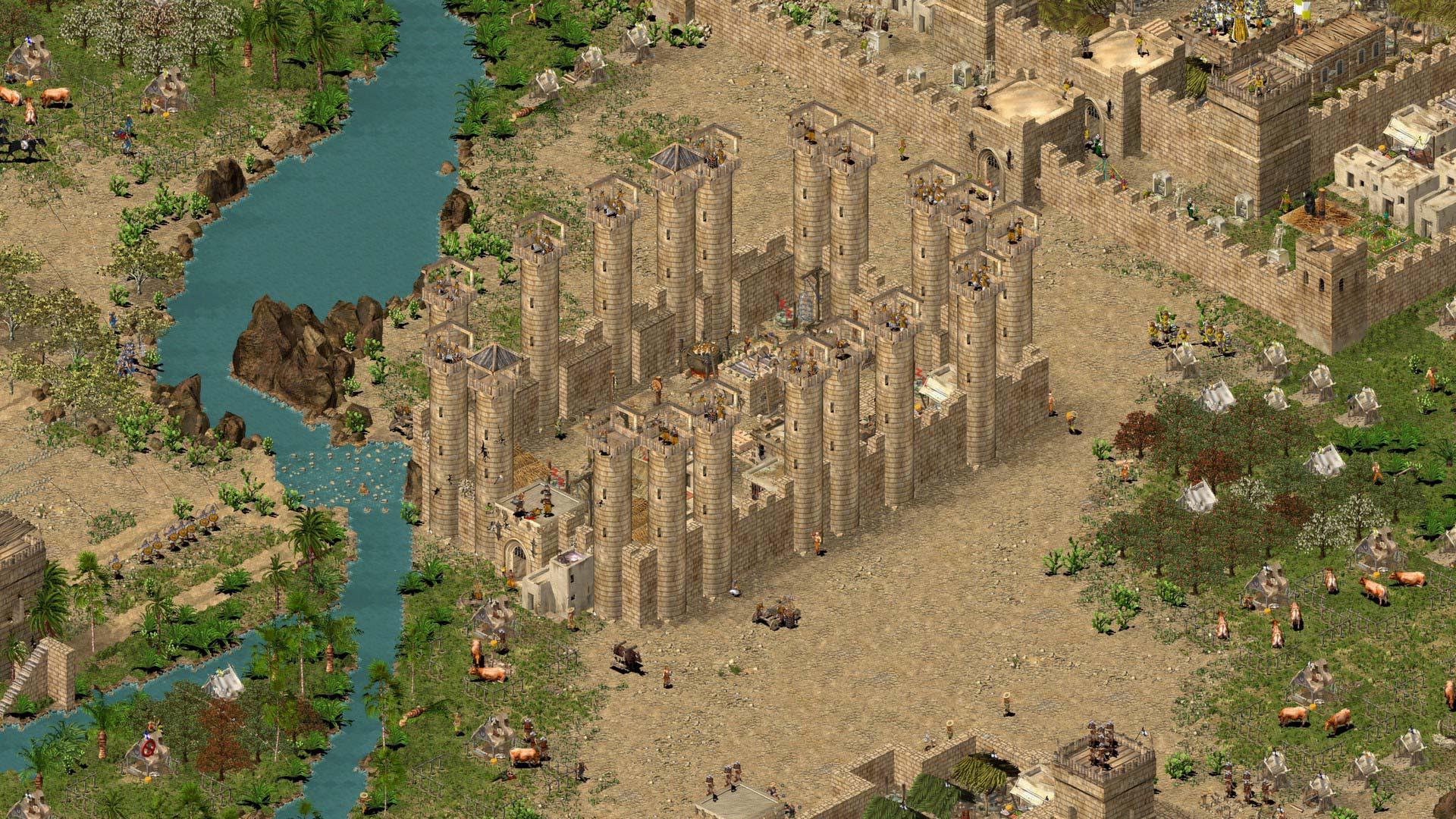 Скриншоты к Stronghold Crusader HD v1.41 (RUS) Полная версия + Русификатор