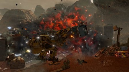 Red Faction Guerrilla Re-Mars-tered (2018) (RUS) Repack полная версия