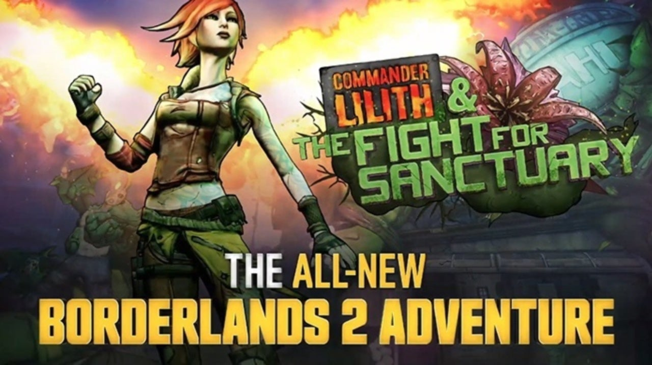 Borderlands 2: Commander Lilith & the Fight for Sanctuary (DLC) (RUS) Repack