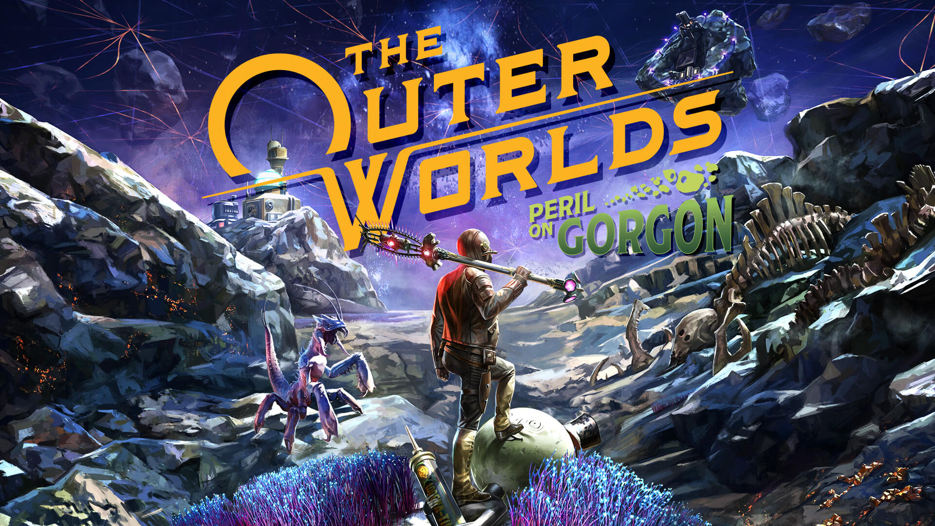 The Outer Worlds Peril on Gorgon (DLC) полная версия